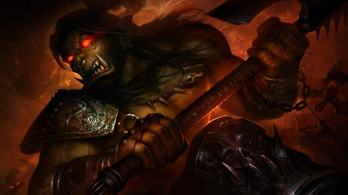 Awesome World Of Warcraft (WOW) free background ID:245500 for 1366x768 laptop PC