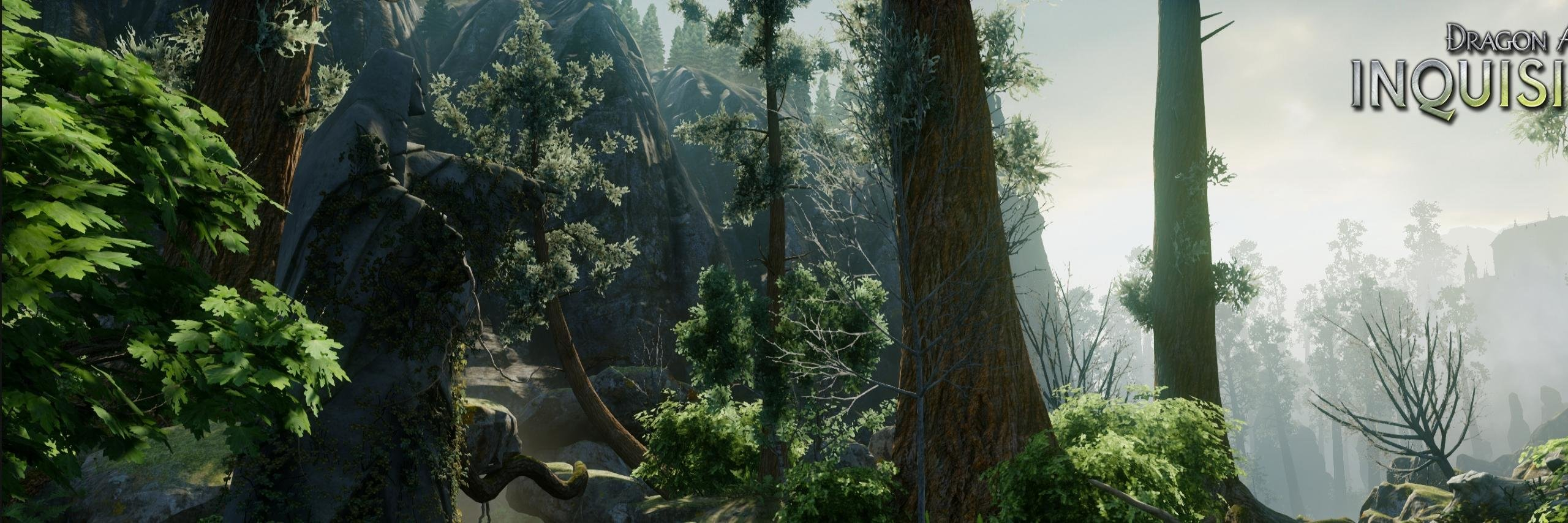 High resolution Dragon Age: Inquisition dual screen 2560x854 wallpaper ID:204579 for desktop