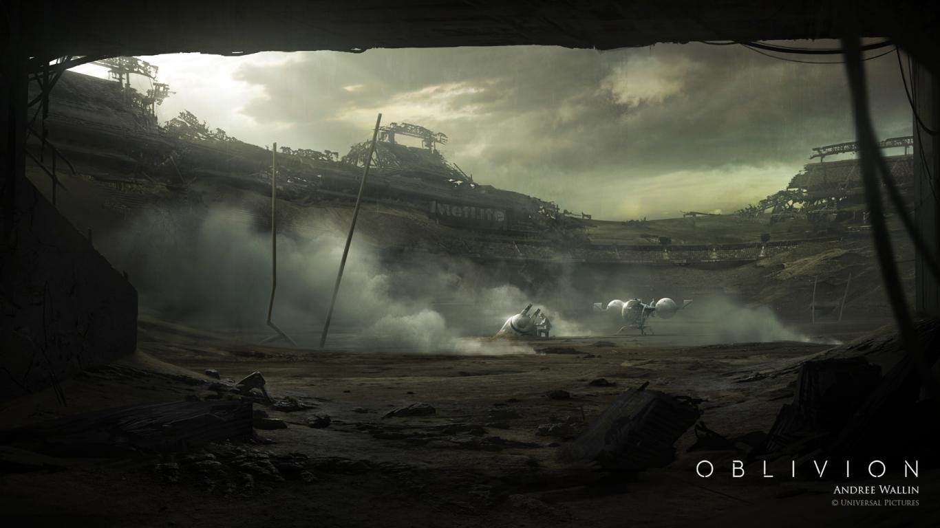 oblivion movie wallpapers 1366x768 (laptop) desktop backgrounds