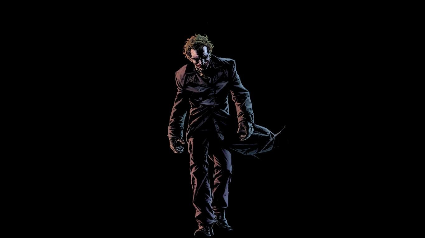 Joker wallpapers 1366x768 (laptop) desktop backgrounds