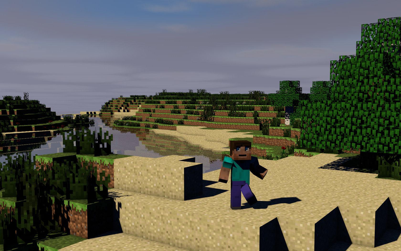 Minecraft World Background Hd