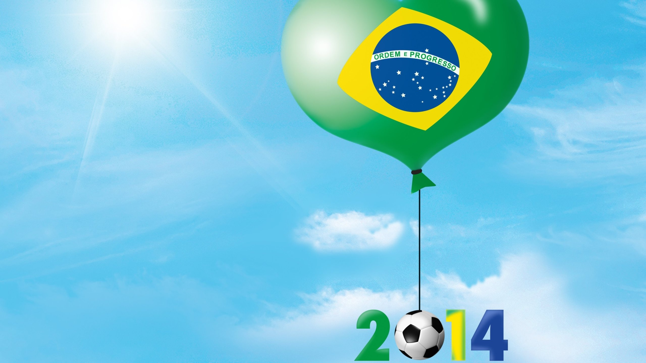 High resolution Fifa World Cup Brazil 2014 hd 2560x1440 background ID:92678 for computer