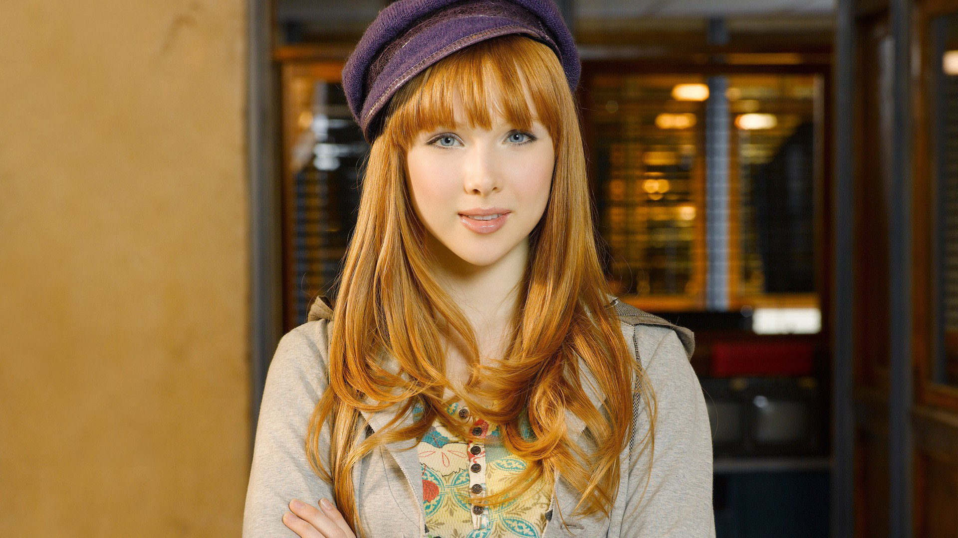 High resolution Molly Quinn hd 1920x1080 wallpaper ID:250569 for PC