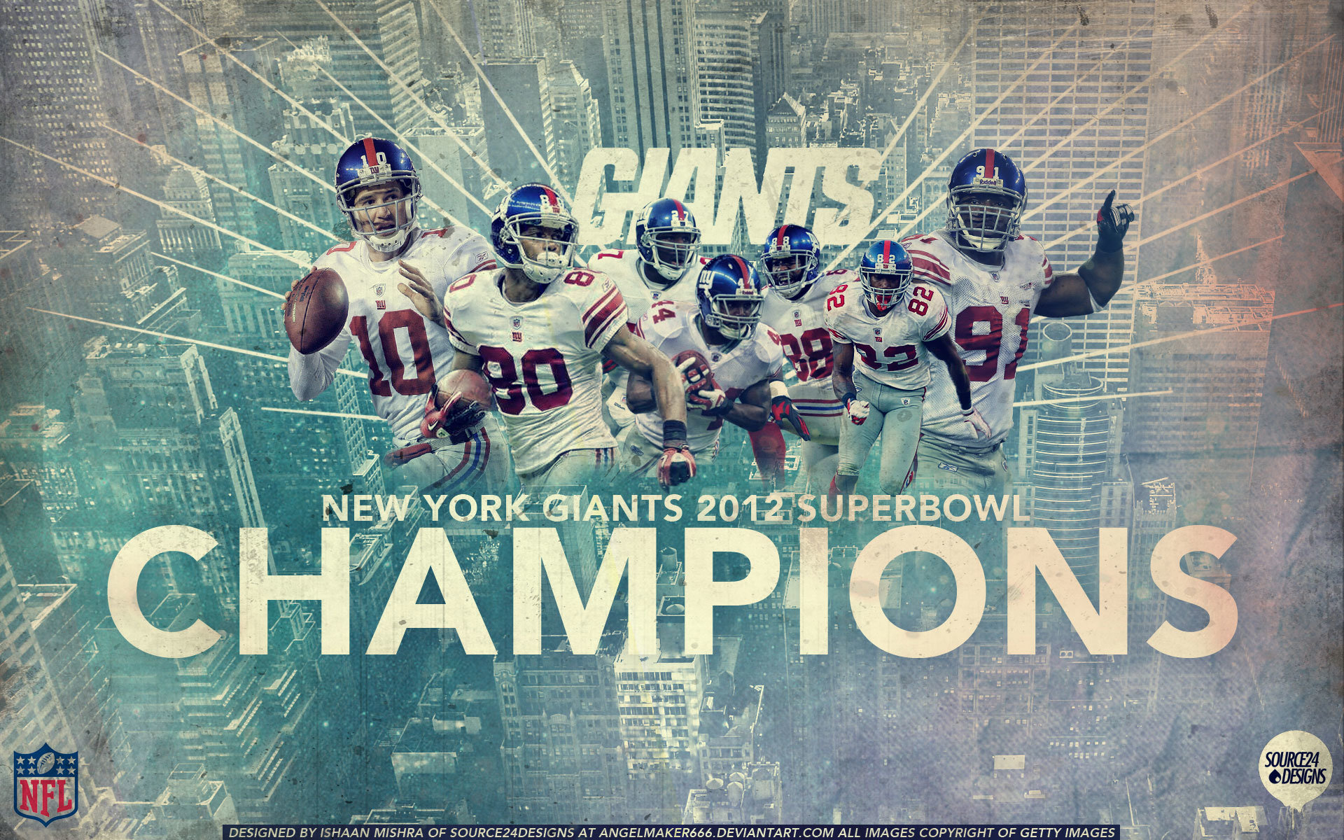 Download Hd 1920x1200 New York Giants Pc Wallpaper Id 101863 For Free