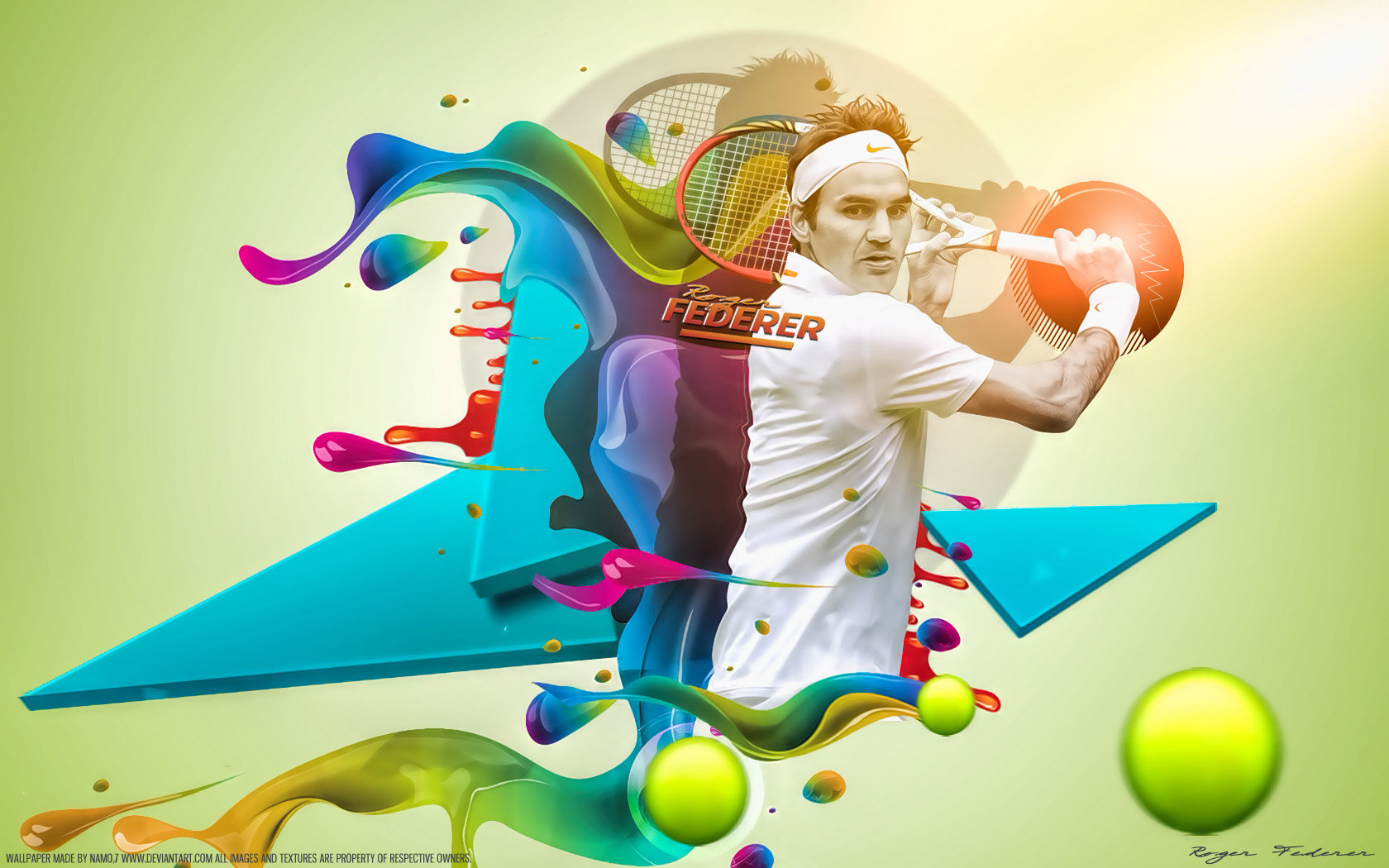 Free Roger Federer high quality background ID:97116 for hd 1680x1050 PC