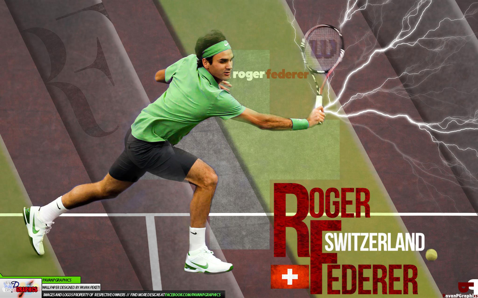 Best Roger Federer background ID:97114 for High Resolution hd 1920x1200 PC