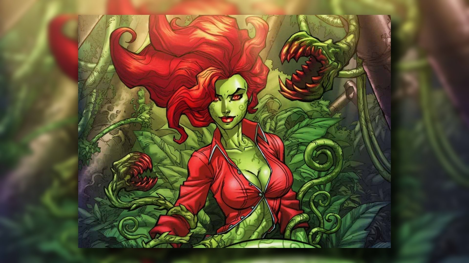 Best Poison Ivy wallpaper ID:430621 for High Resolution 1080p PC
