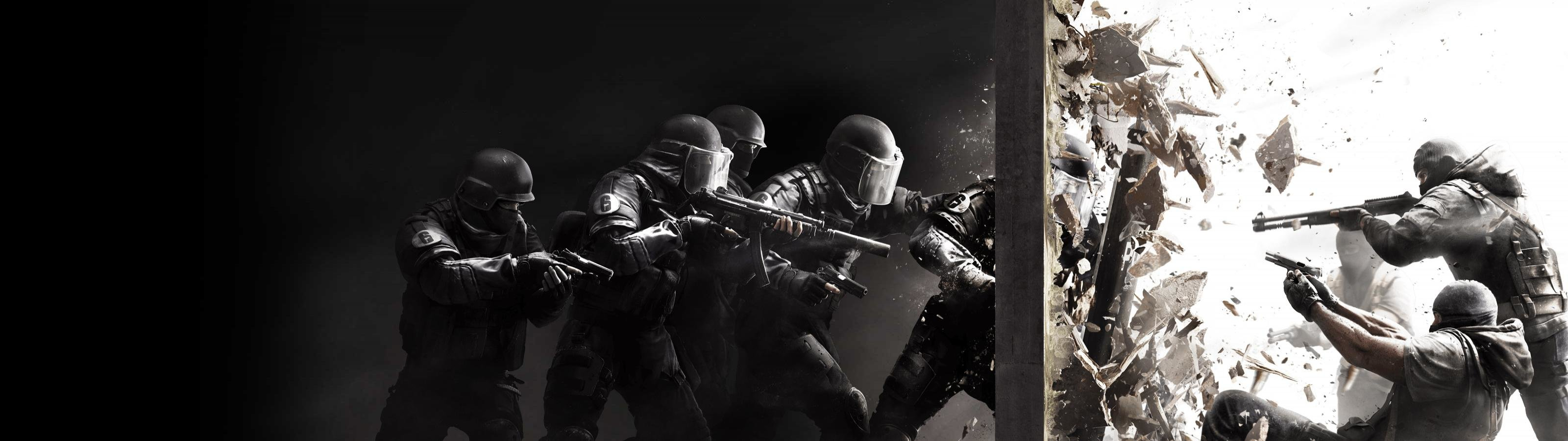 Download dual monitor 3200x900 Tom Clancy's Rainbow Six: Siege computer wallpaper ID:281747 for free