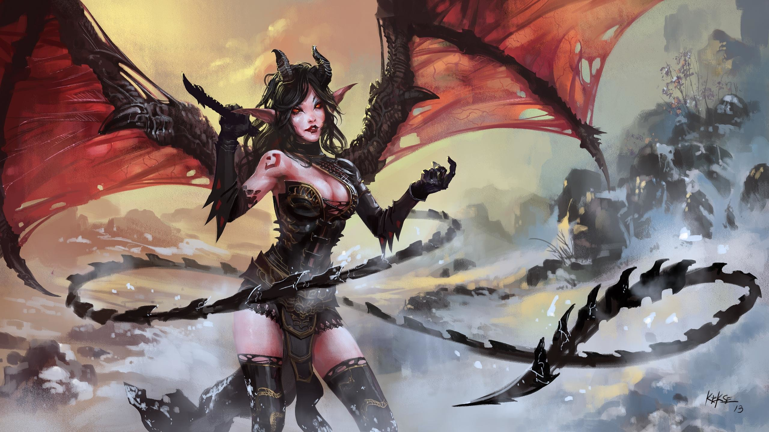 Best Demon background ID:12340 for High Resolution hd 2560x1440 PC