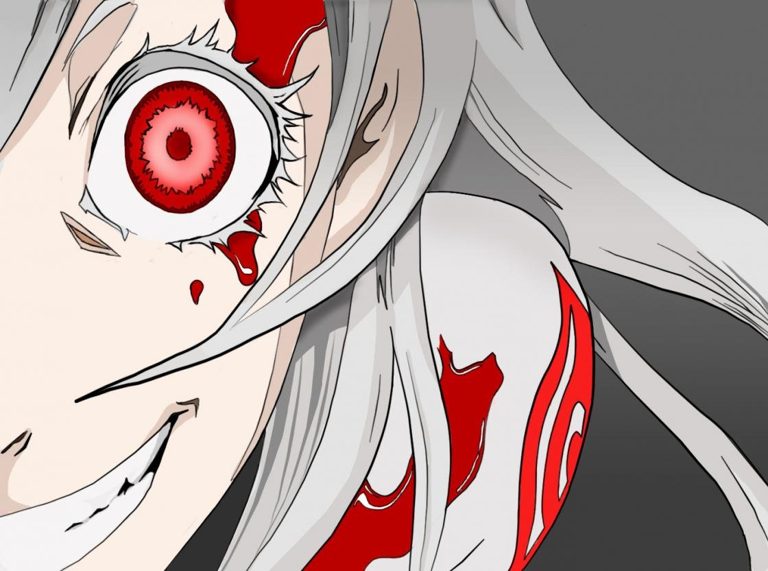 Free download Shiro (Deadman Wonderland) wallpaper ID:192066 hd 1120x832 for desktop