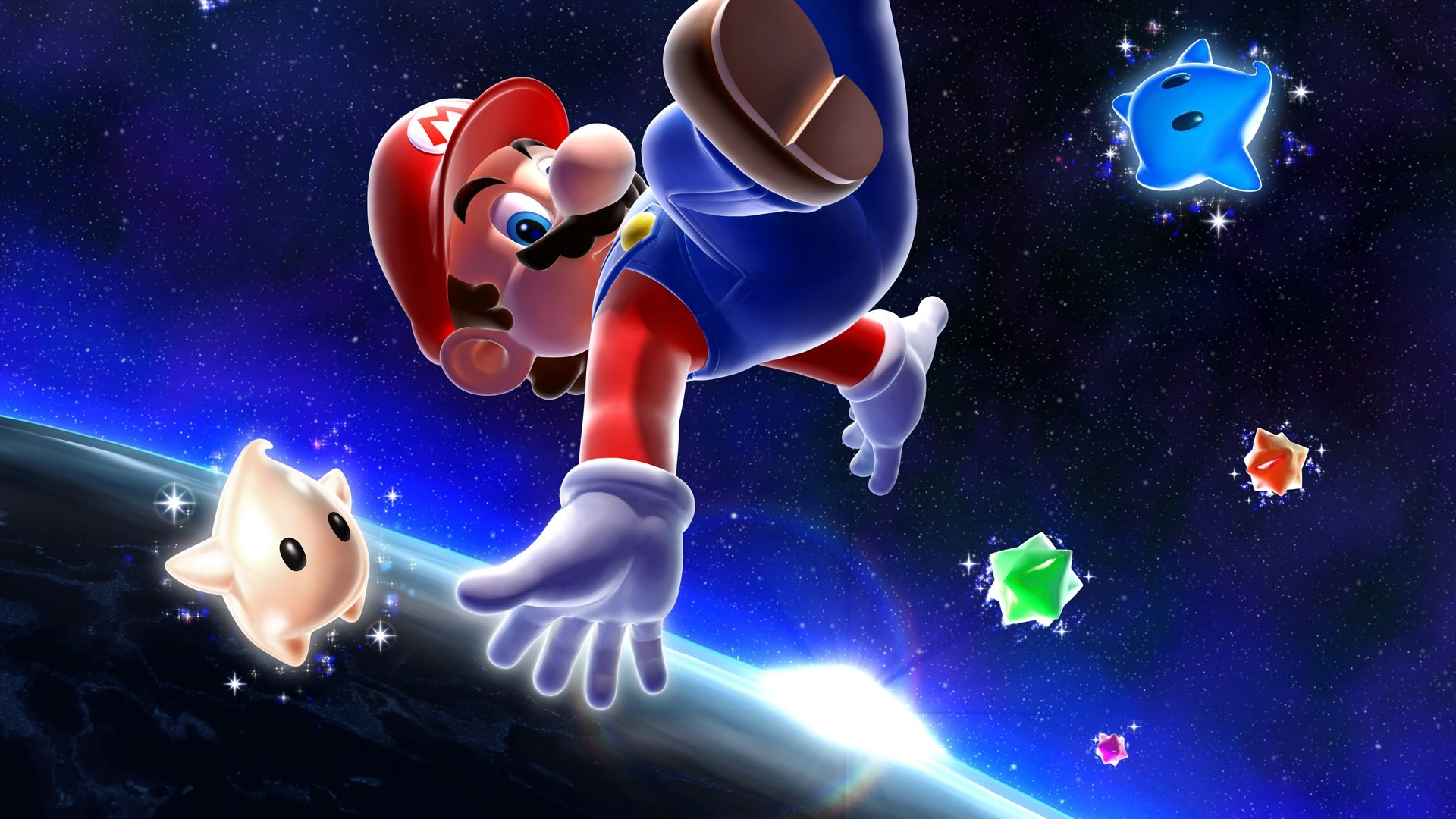 Super Mario Galaxy Wallpapers 1920x1080 Full Hd 1080p