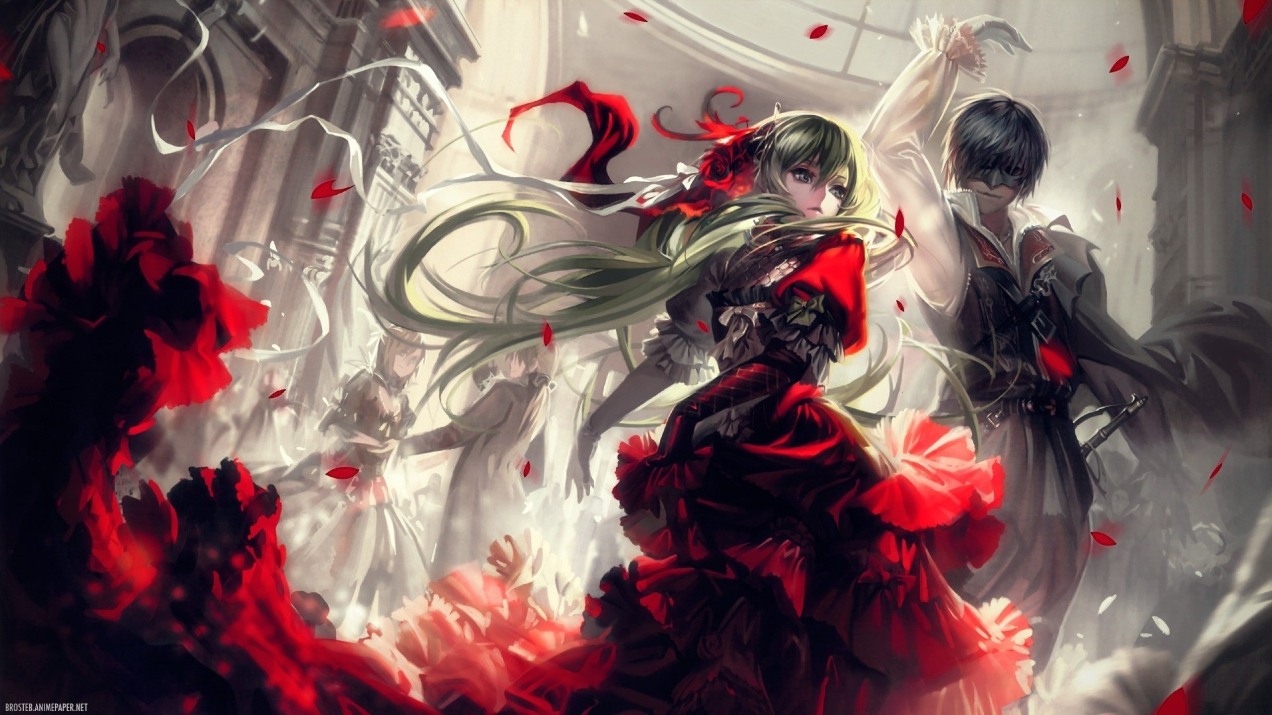Free download Vocaloid background ID:218 hd 2560x1440 for PC