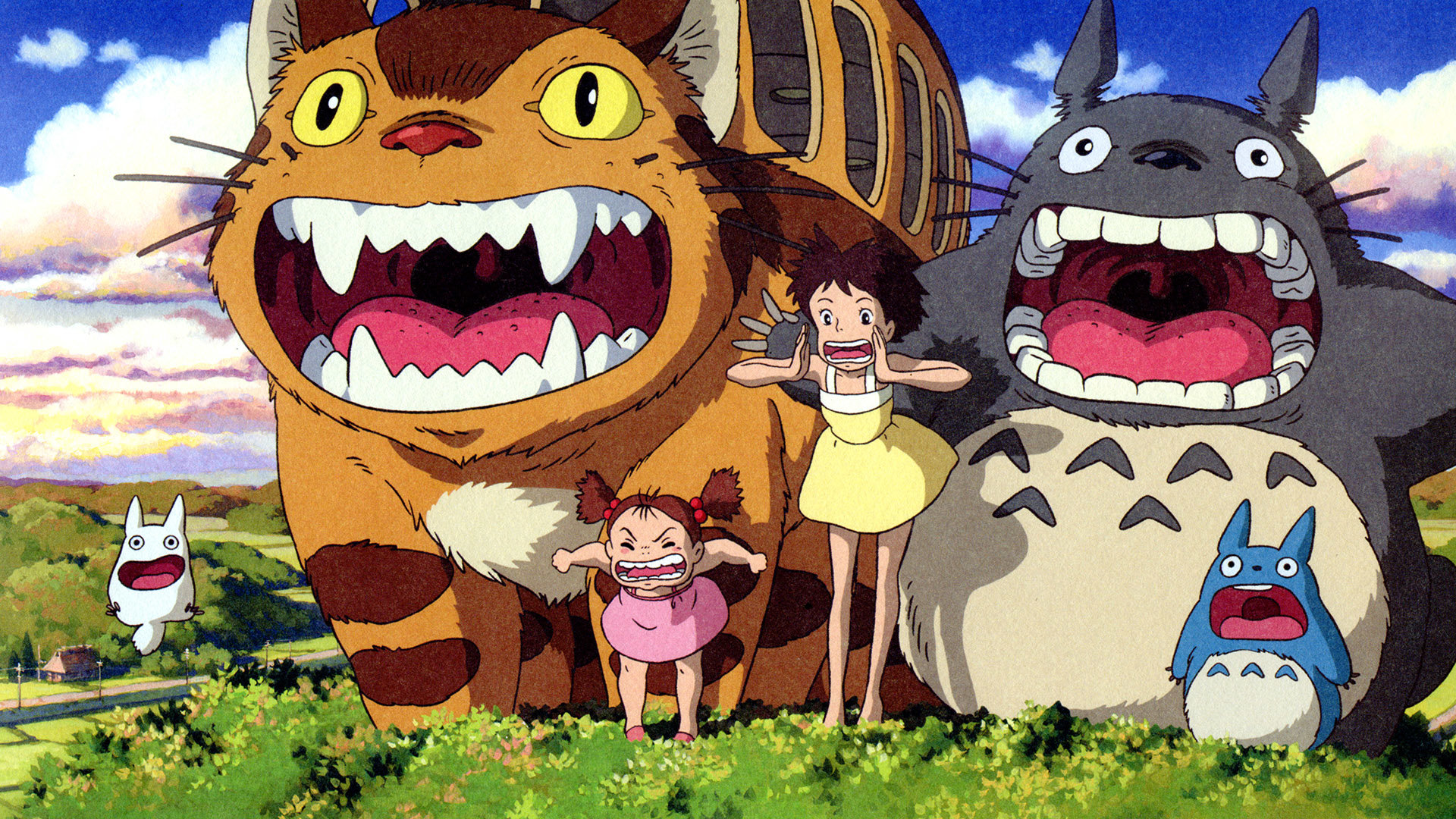 Best My Neighbor Totoro background ID:259334 for High Resolution full hd 1920x1080 desktop
