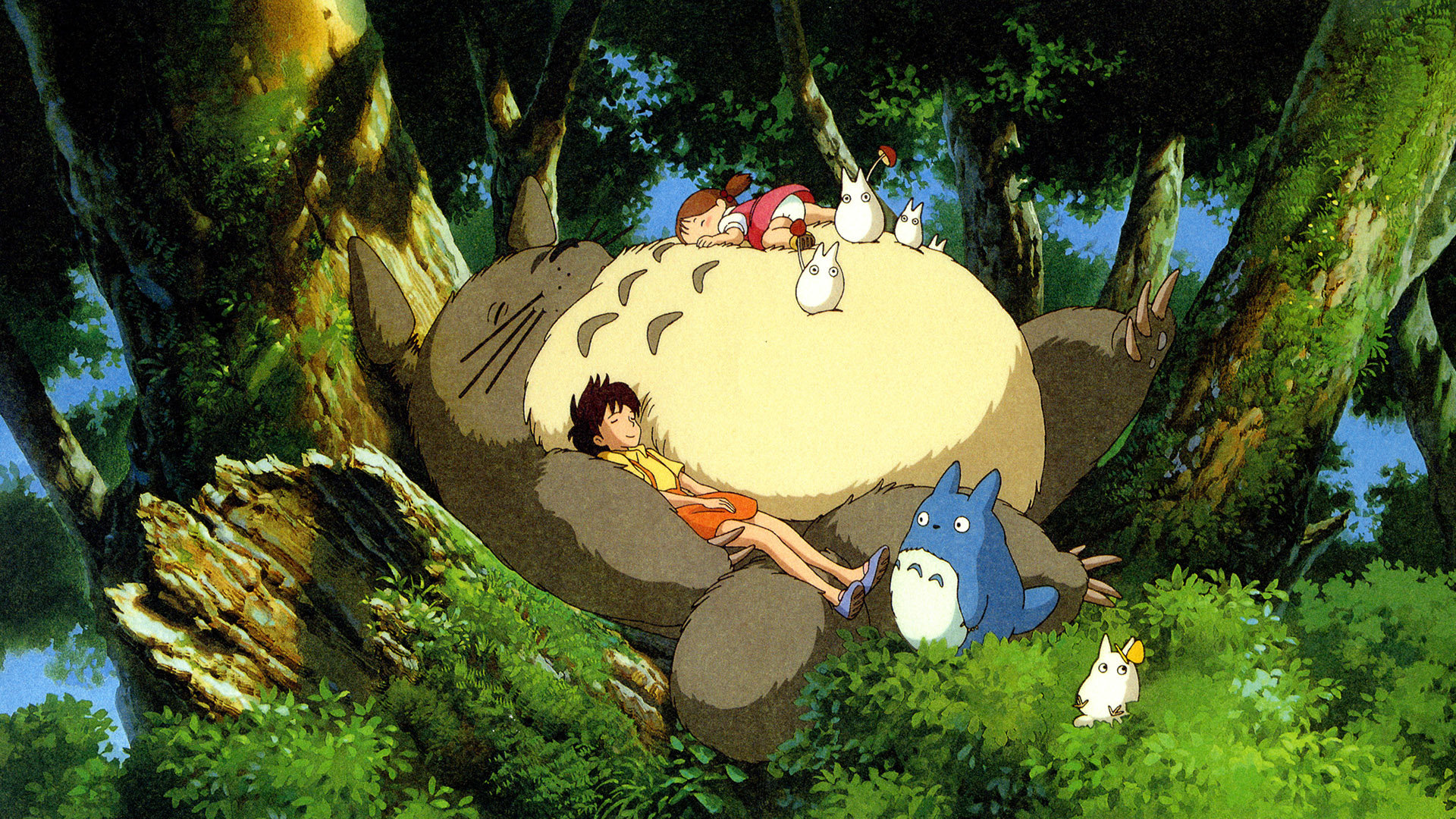 Best My Neighbor Totoro wallpaper ID:259329 for High Resolution full hd computer