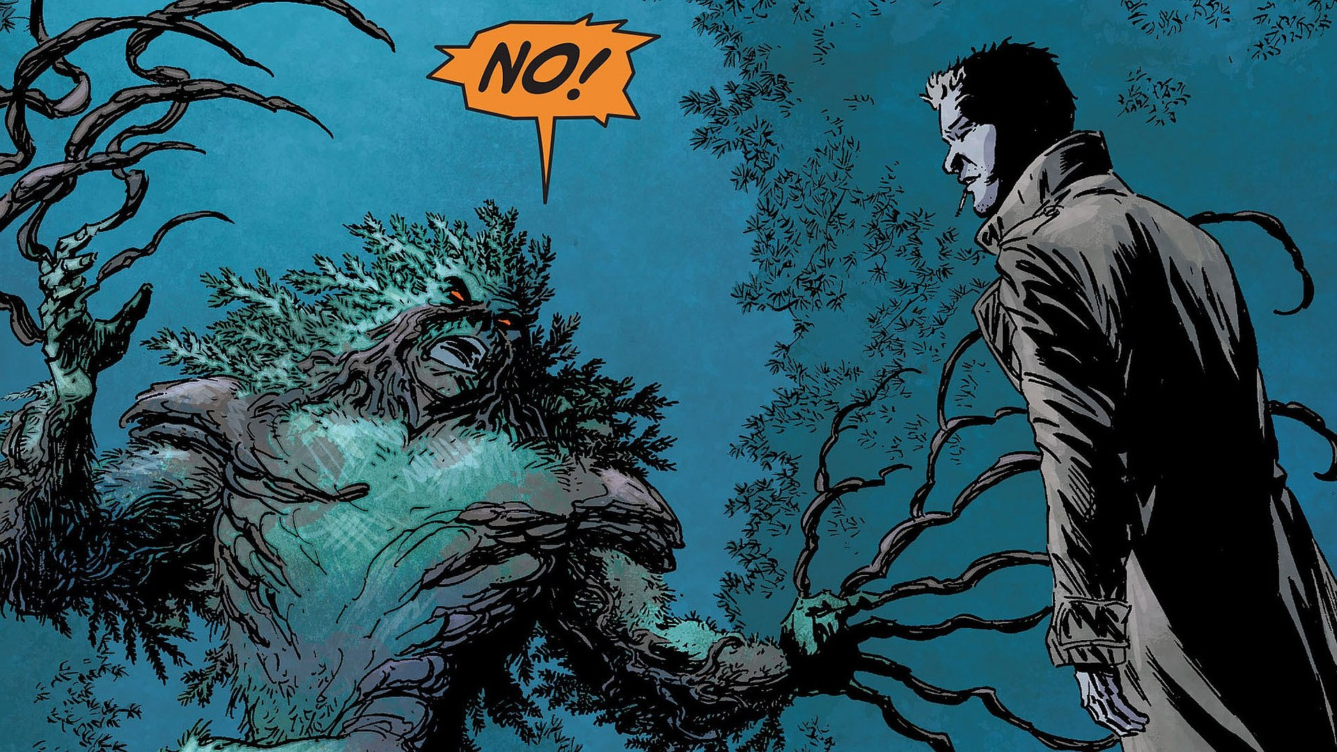 Swamp Thing Wallpapers Hd For Desktop Backgrounds
