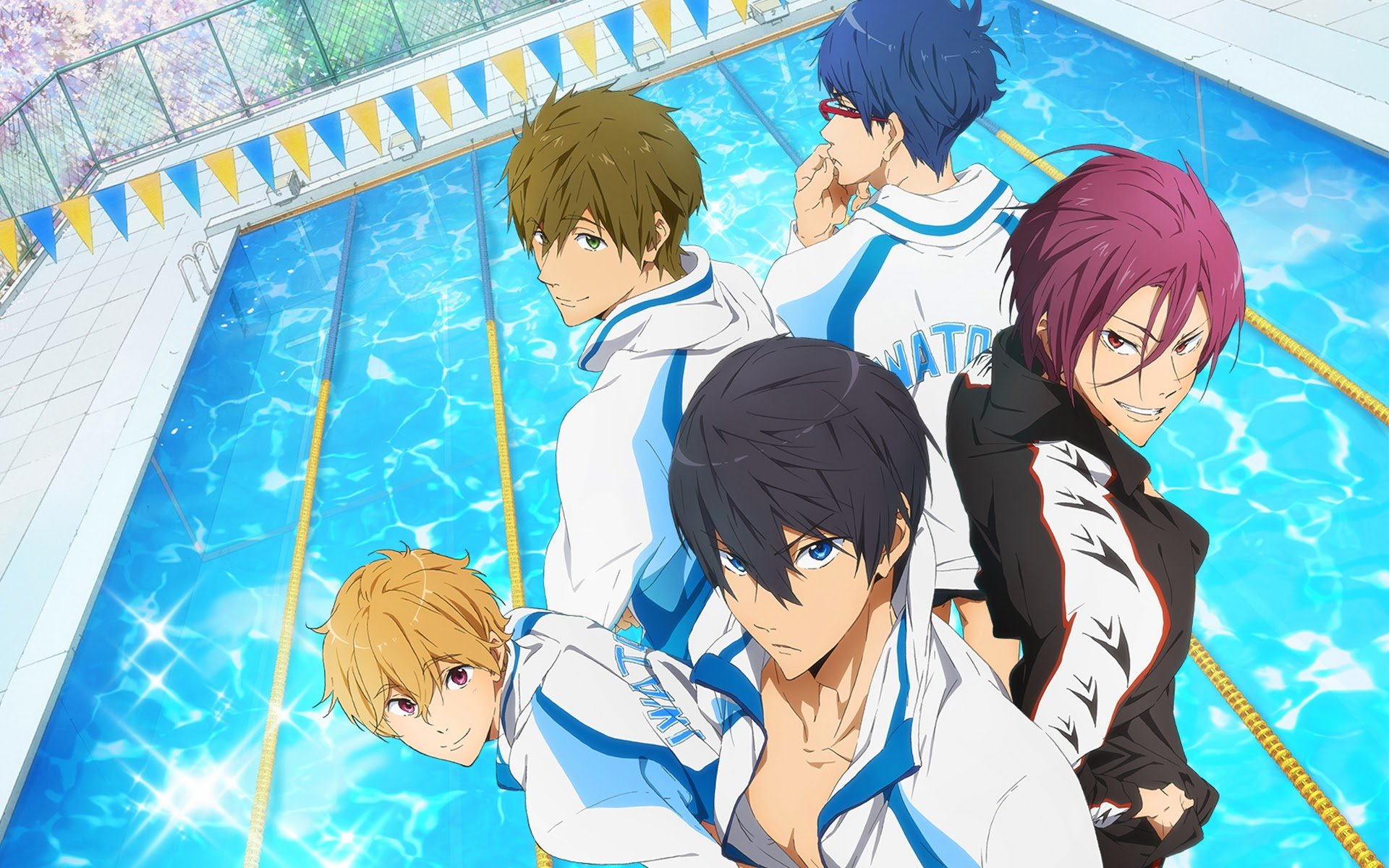 Free download Free - iwatobi swim club background ID:231943 hd 1920x1200 for desktop