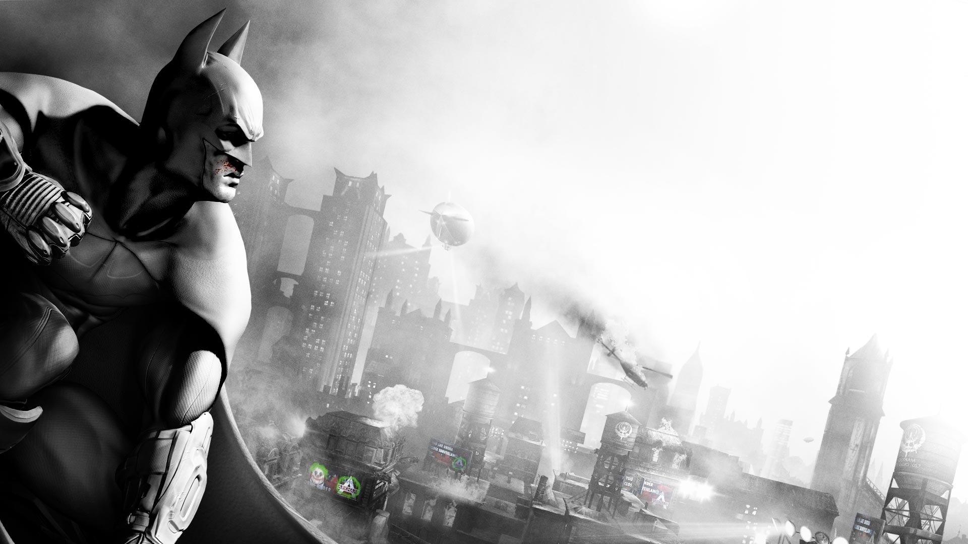 High Resolution Batman Arkham City Full Hd 1080p Wallpaper Id