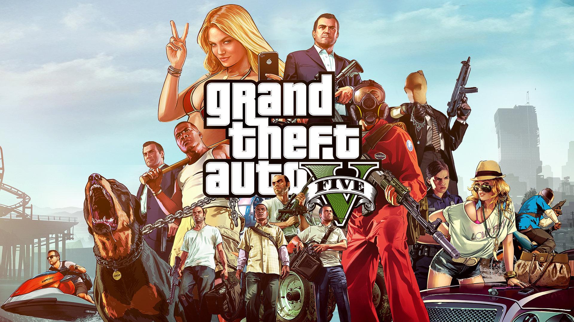 Free Download Grand Theft Auto V GTA 5 Wallpaper ID195027 Full Hd For Computer
