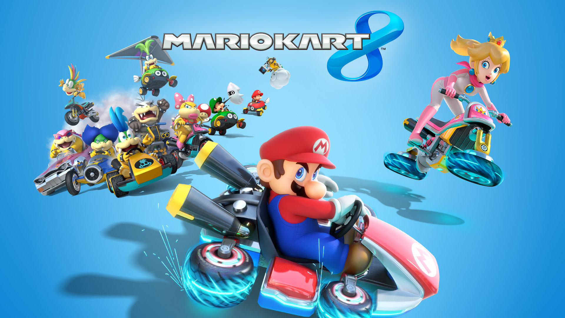 Mario Kart 8 Wallpapers 1920x1080 Full Hd 1080p Desktop Backgrounds
