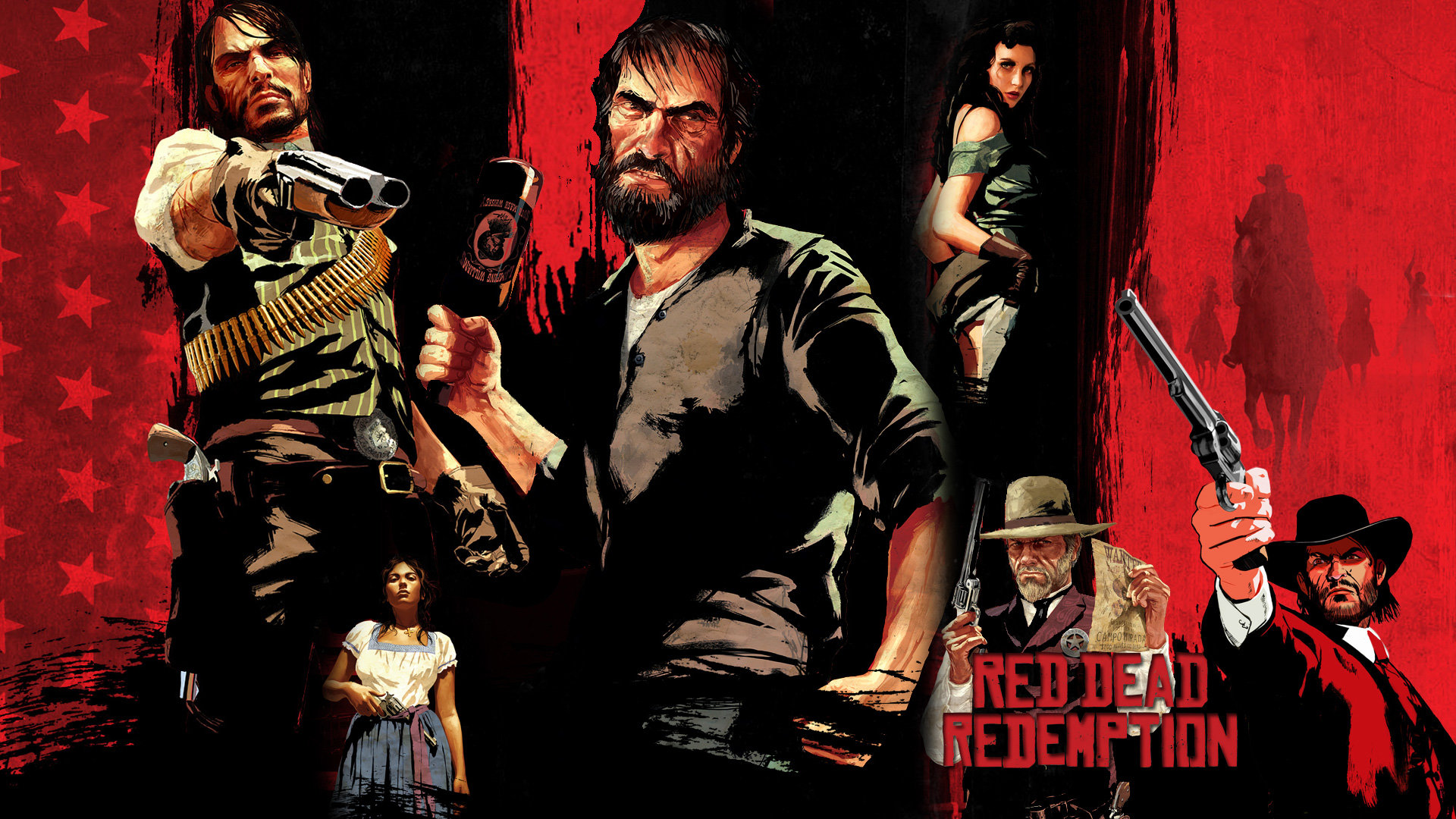 Awesome Red Dead Redemption Free Wallpaper Id 431986 For Hd 1080p