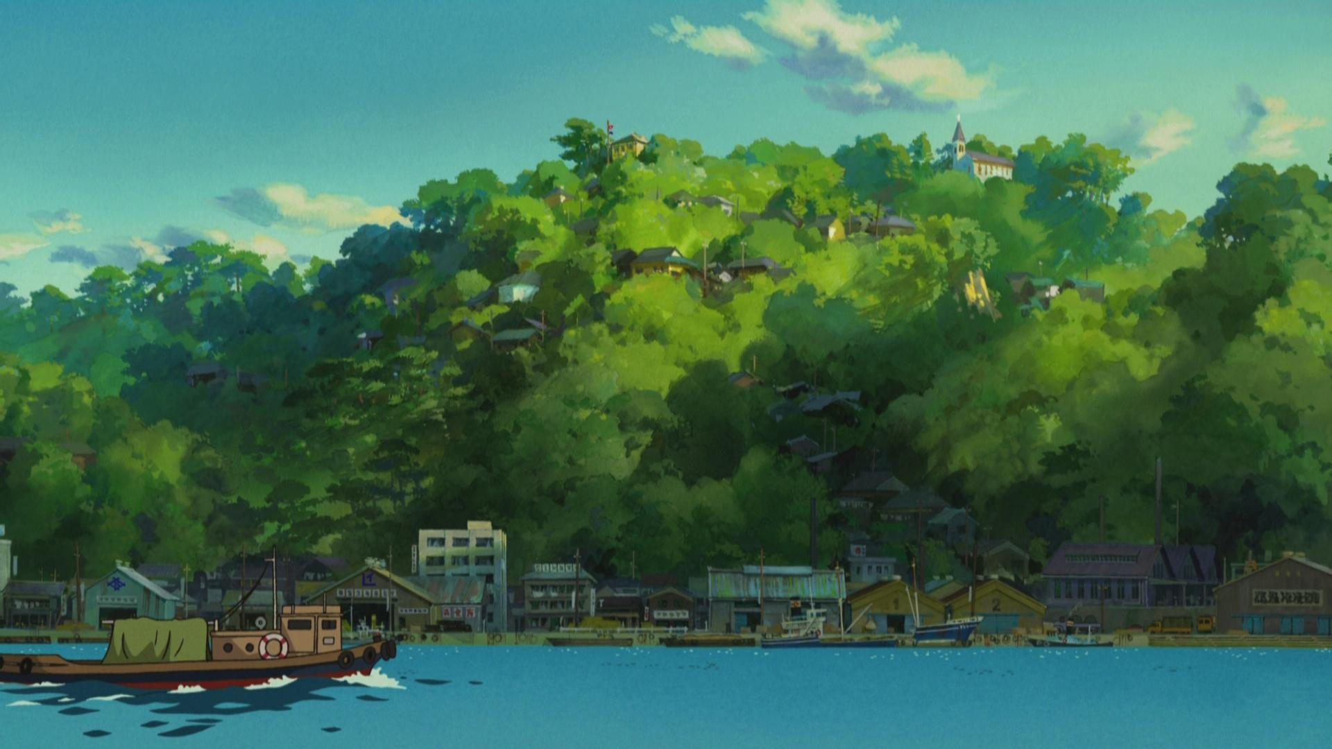 High resolution From Up On Poppy Hill hd 1920x1080 background ID:150693 for desktop