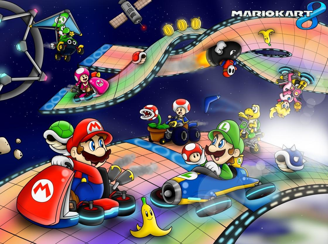 Mario Kart 8 Wallpapers Hd For Desktop Backgrounds