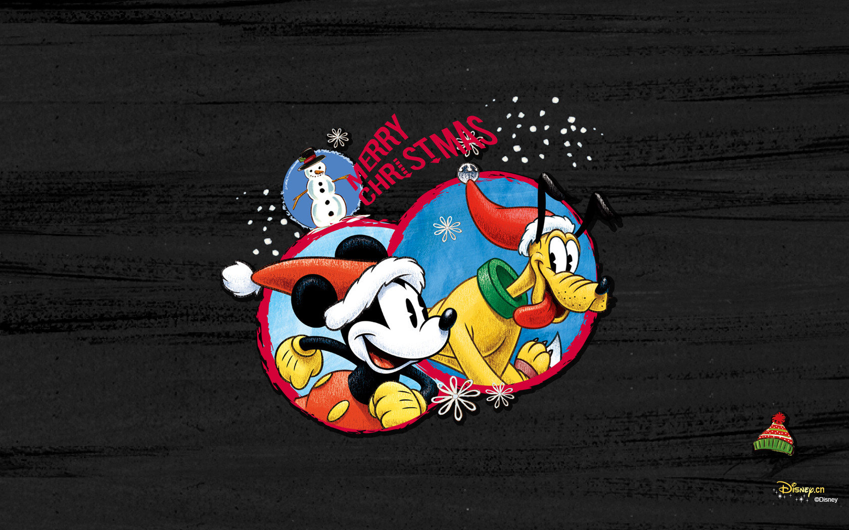 Mickey Mouse Christmas Wallpapers 1680x1050 Desktop Backgrounds