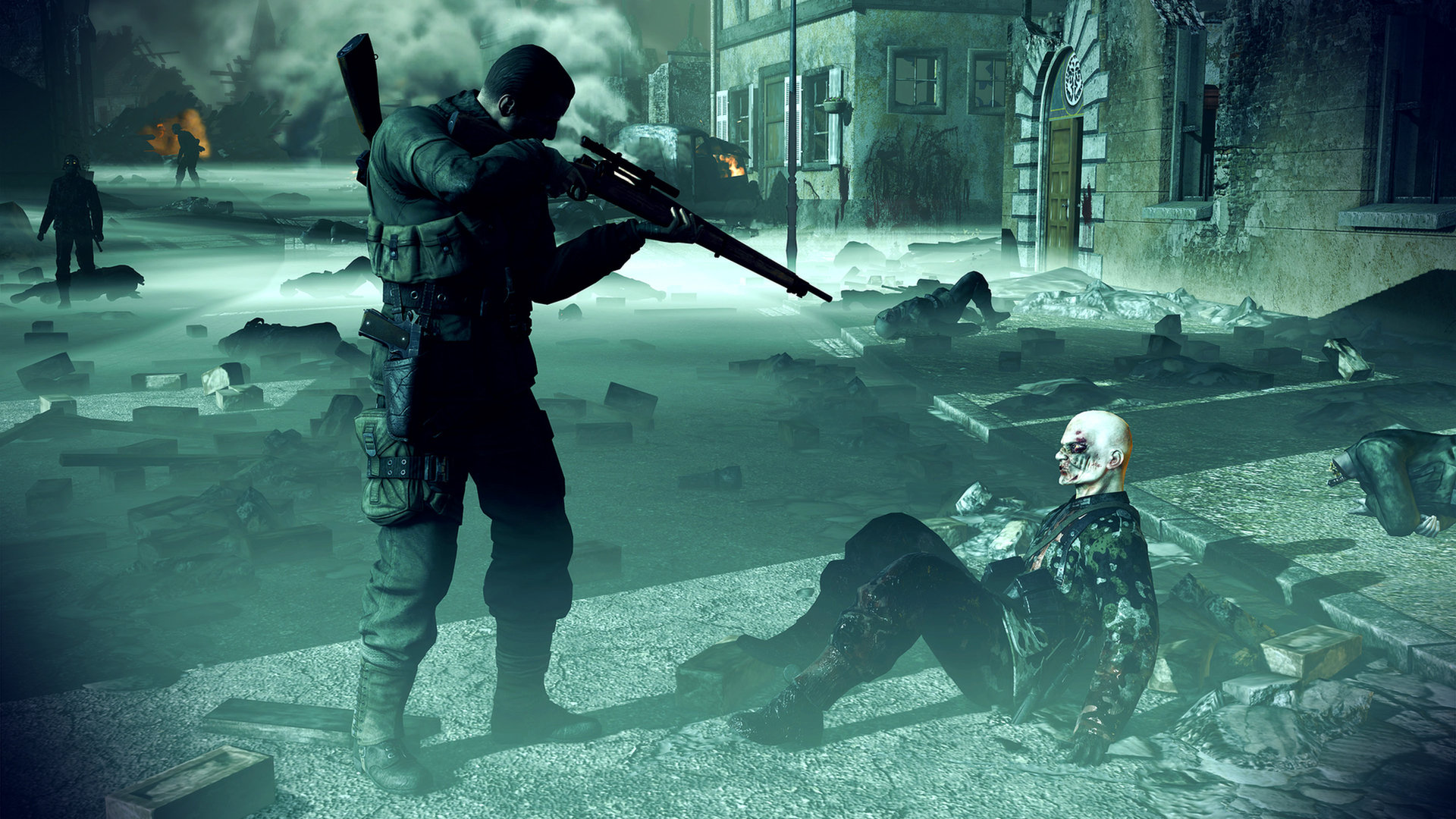 Sniper Elite Nazi Zombie Army Wallpapers 1920x1080 Full Hd 1080p