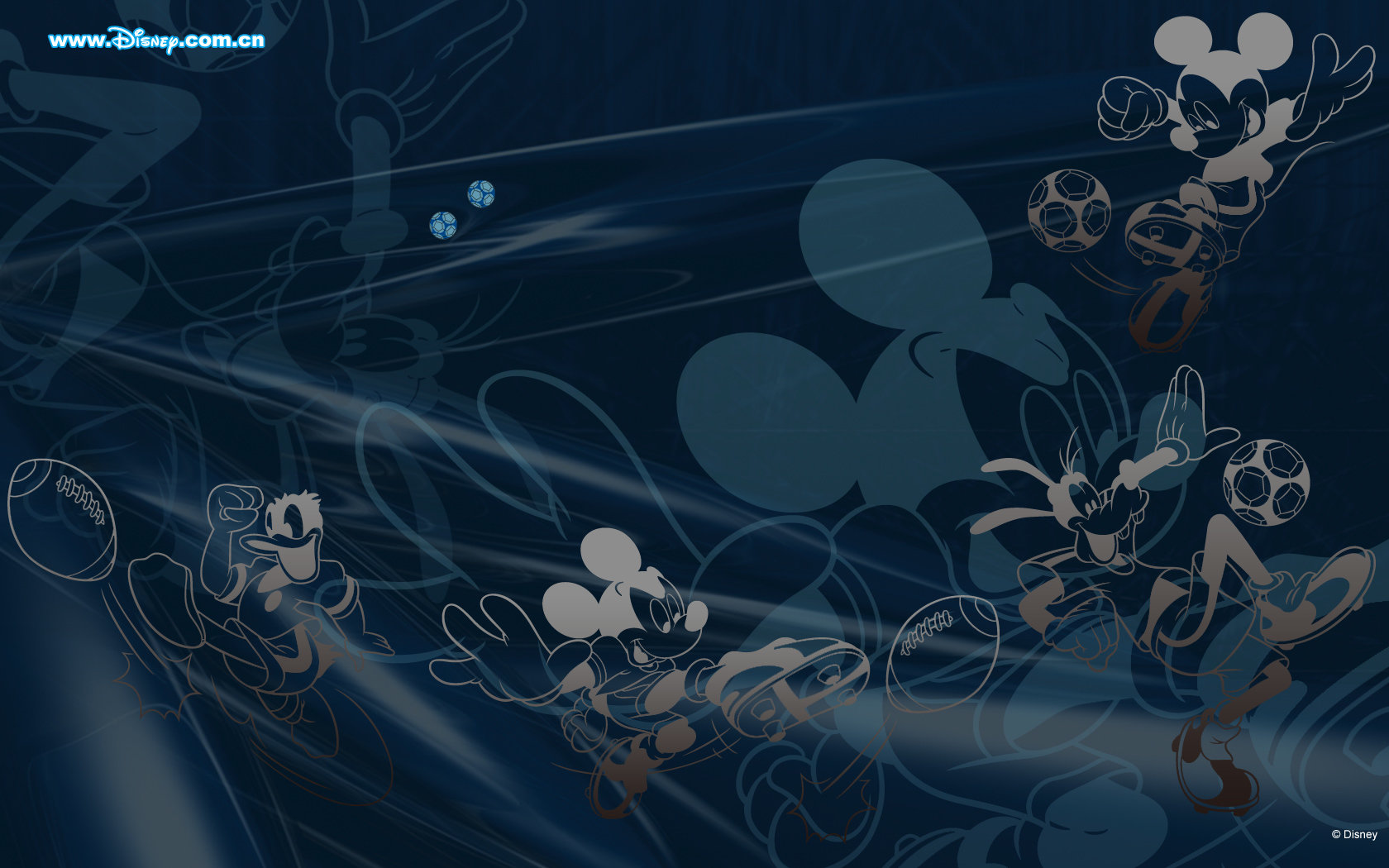 Download Hd 1680x1050 Mickey Mouse And Friends Pc Background Id
