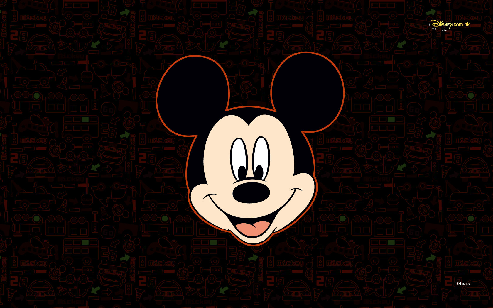 Mickey Mouse Zombie Wallpaper