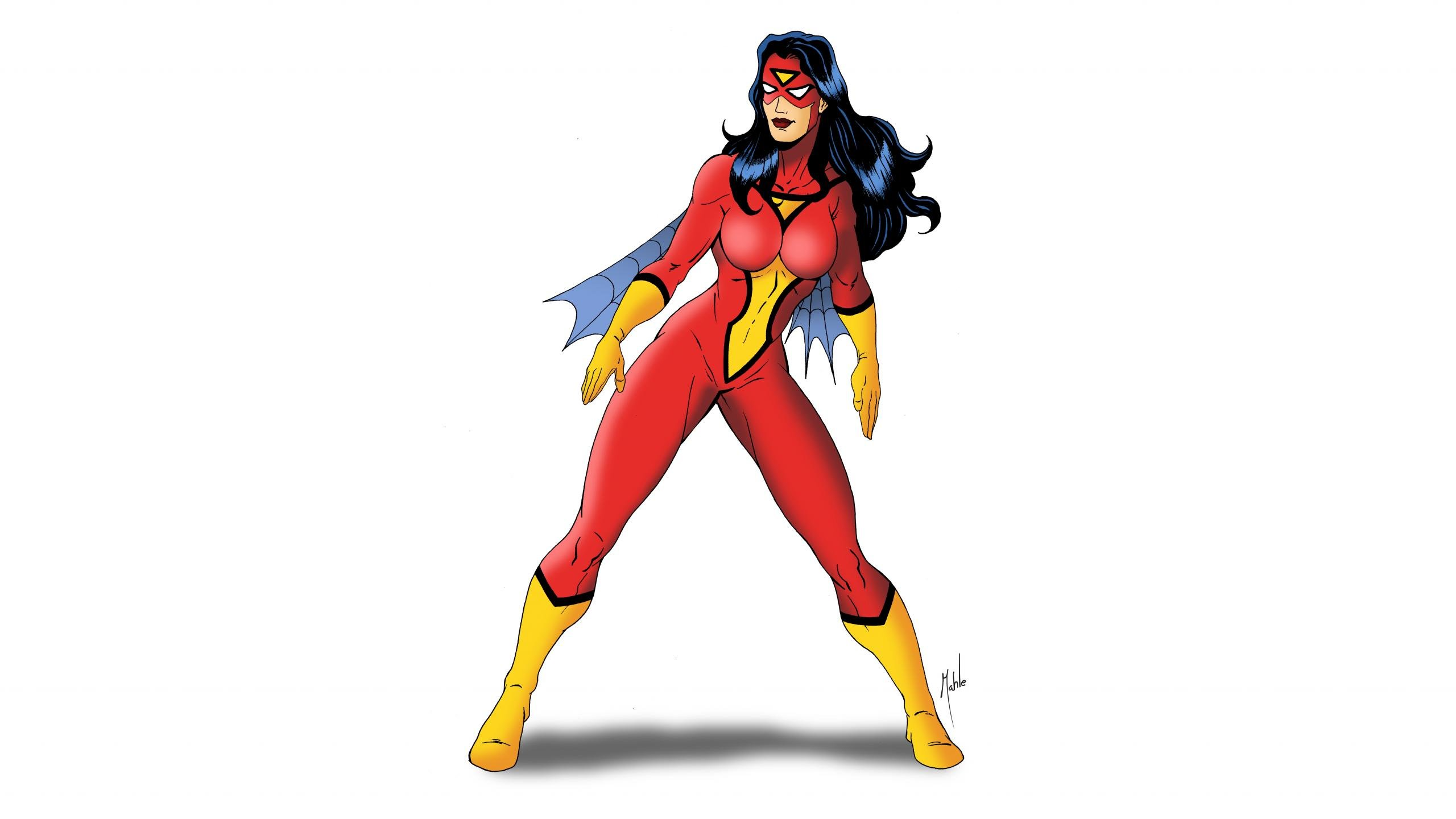 Free Spider-Woman high quality background ID:391195 for hd 2560x1440 desktop