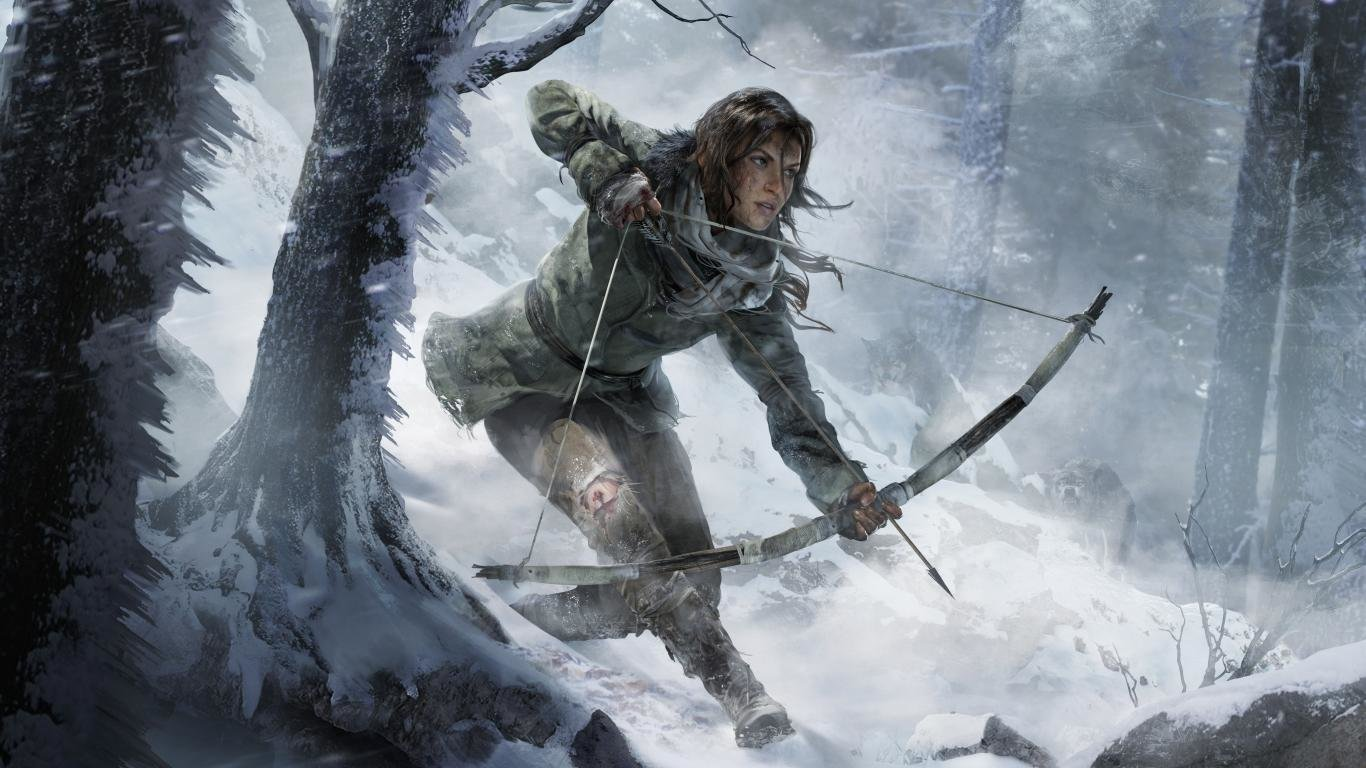 Free Tomb Raider (Lara Croft) high quality background ID:437306 for 1366x768 laptop desktop
