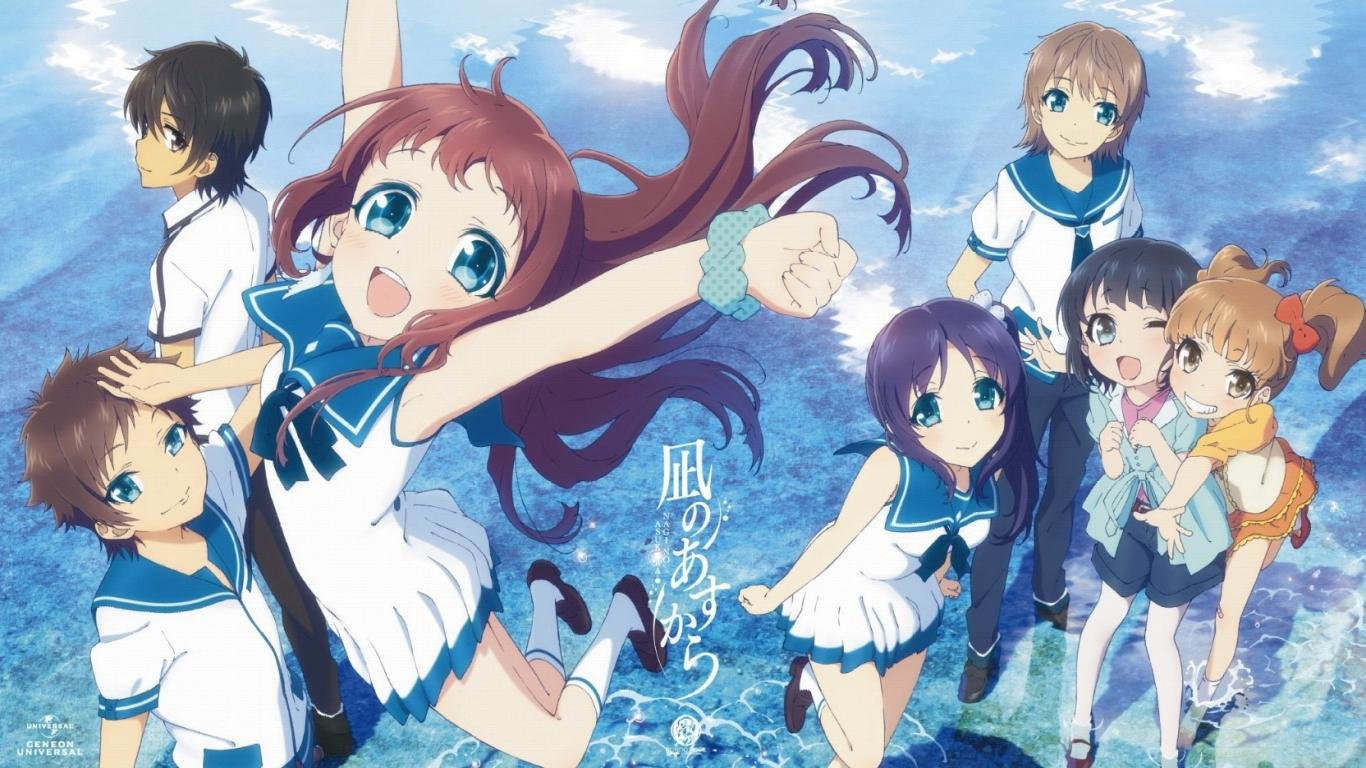 Best Nagi No Asukara background ID:379014 for High Resolution laptop PC