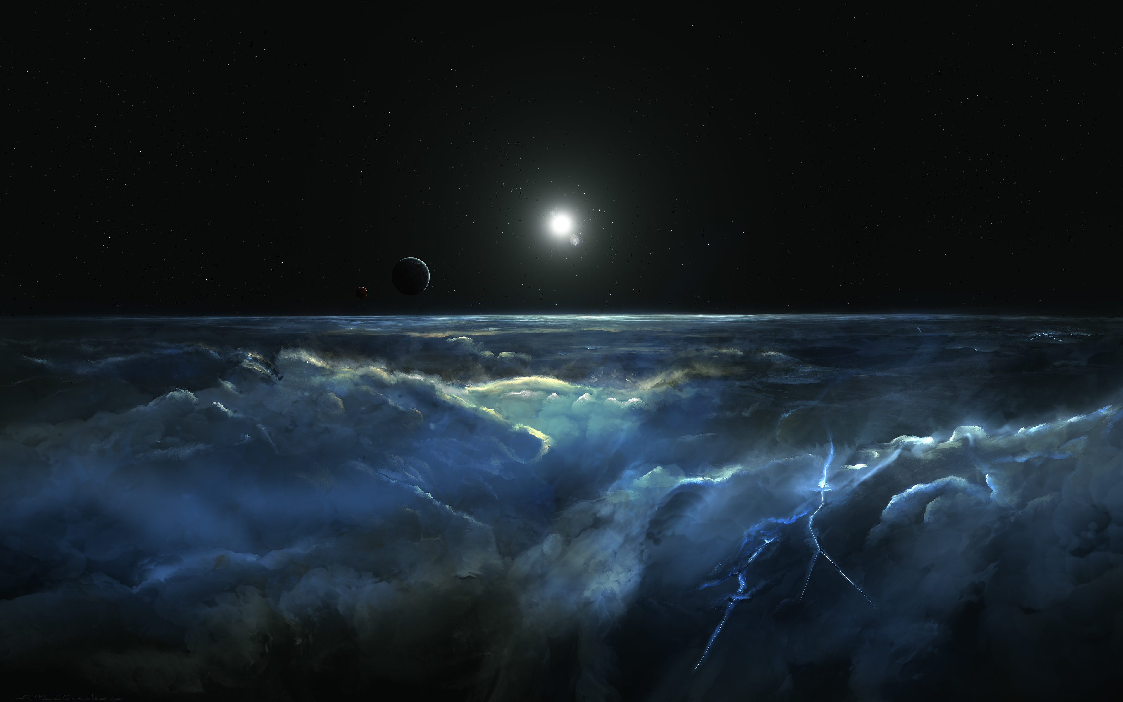 planetscape background hd 3840x2400 271576