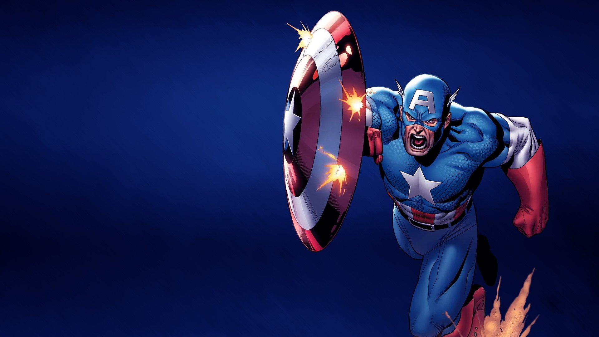 Free Download Captain America Marvel Comics Wallpaper Id292770 Hd