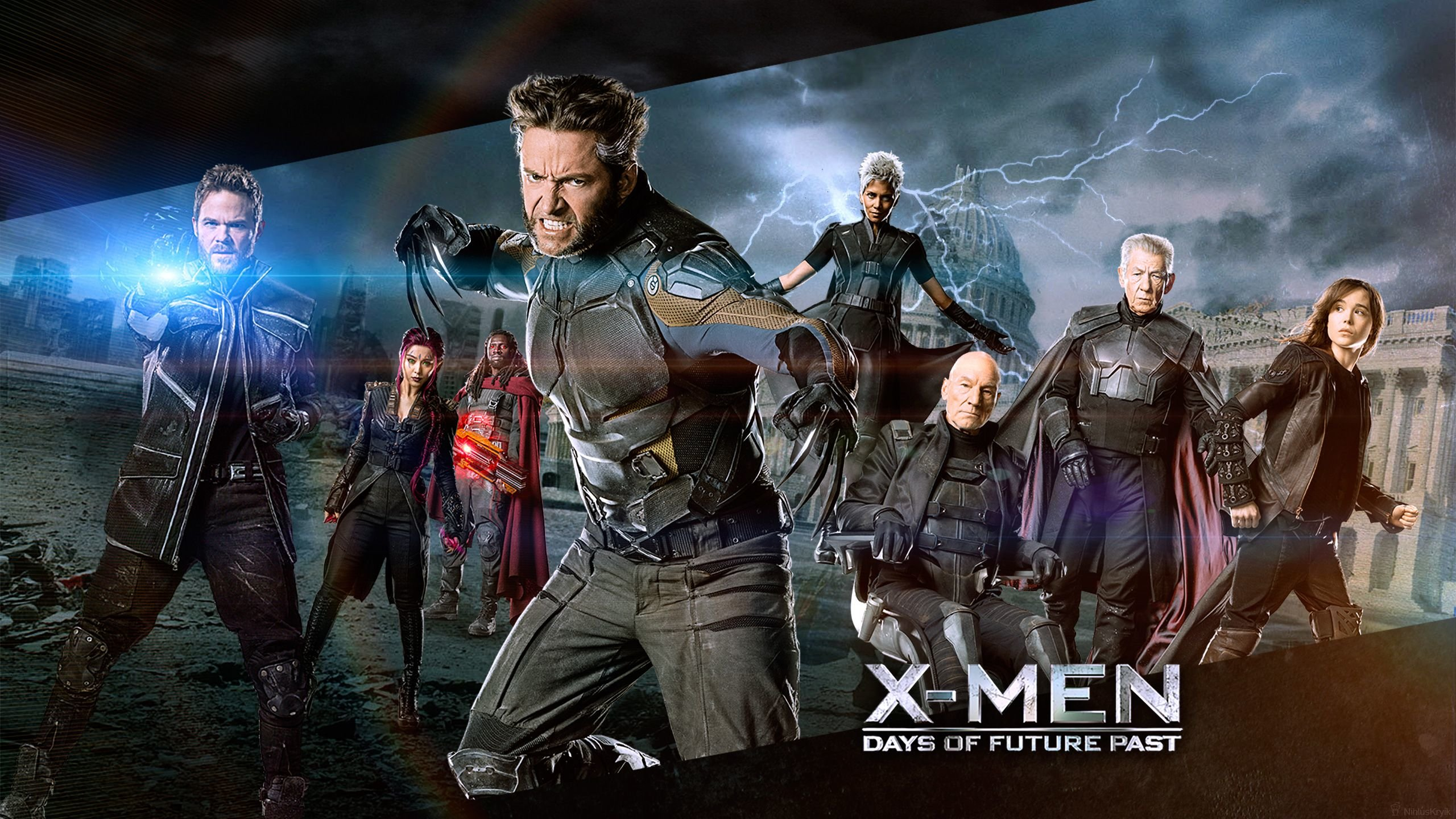Download Hd 2560x1440 X Men Days Of Future Past Computer Background ID8393