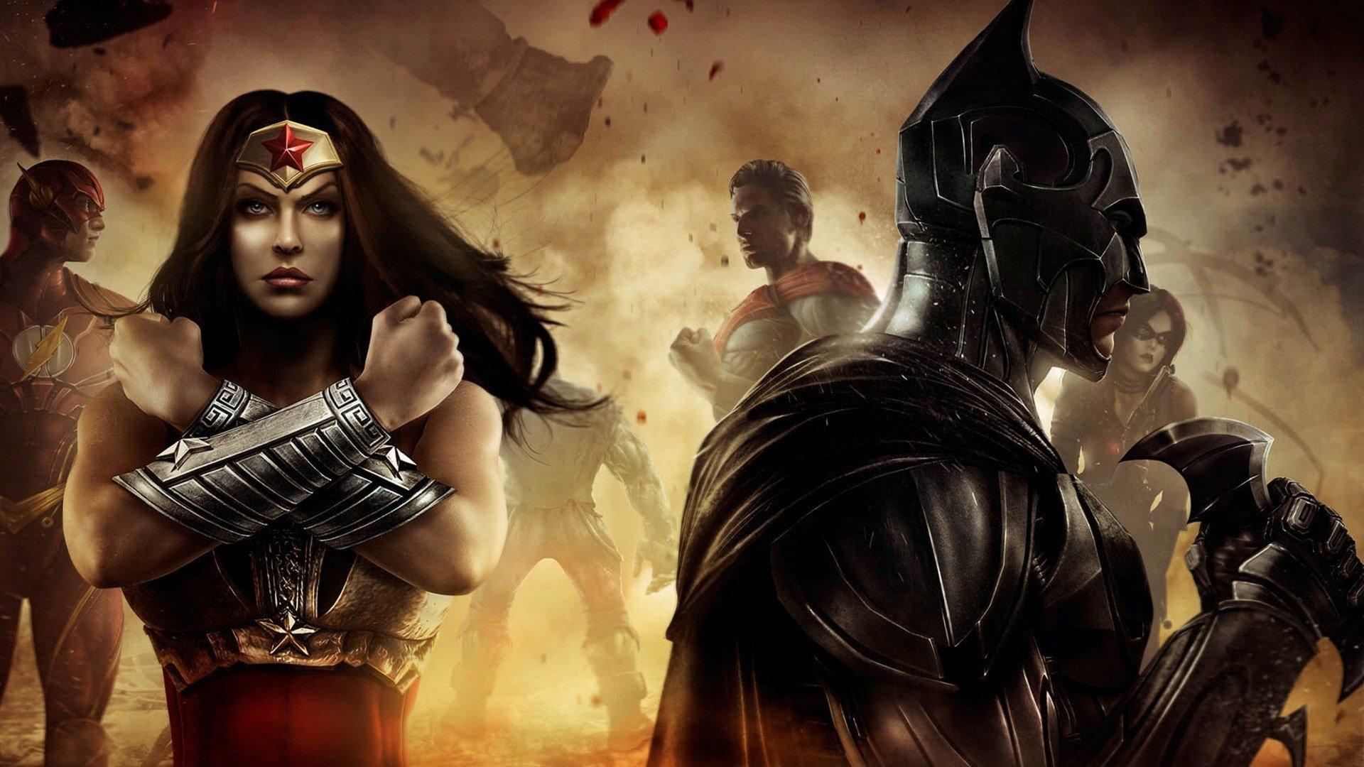 Injustice Gods Among Us Wallpapers Hd For Desktop Backgrounds