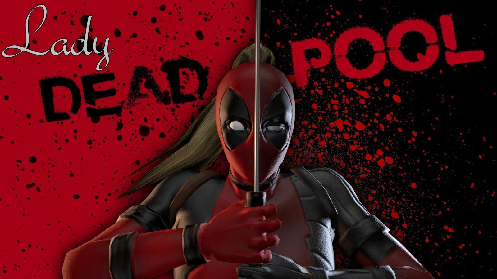 High Resolution Lady Deadpool Hd 1600x900 Wallpaper Id 327372 For