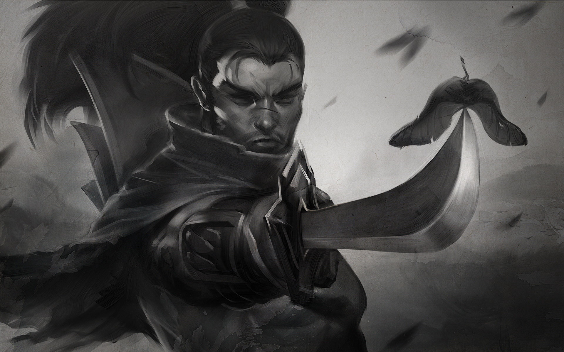 Free download Yasuo (League Of Legends) background ID:170916 hd 1920x1200 for desktop