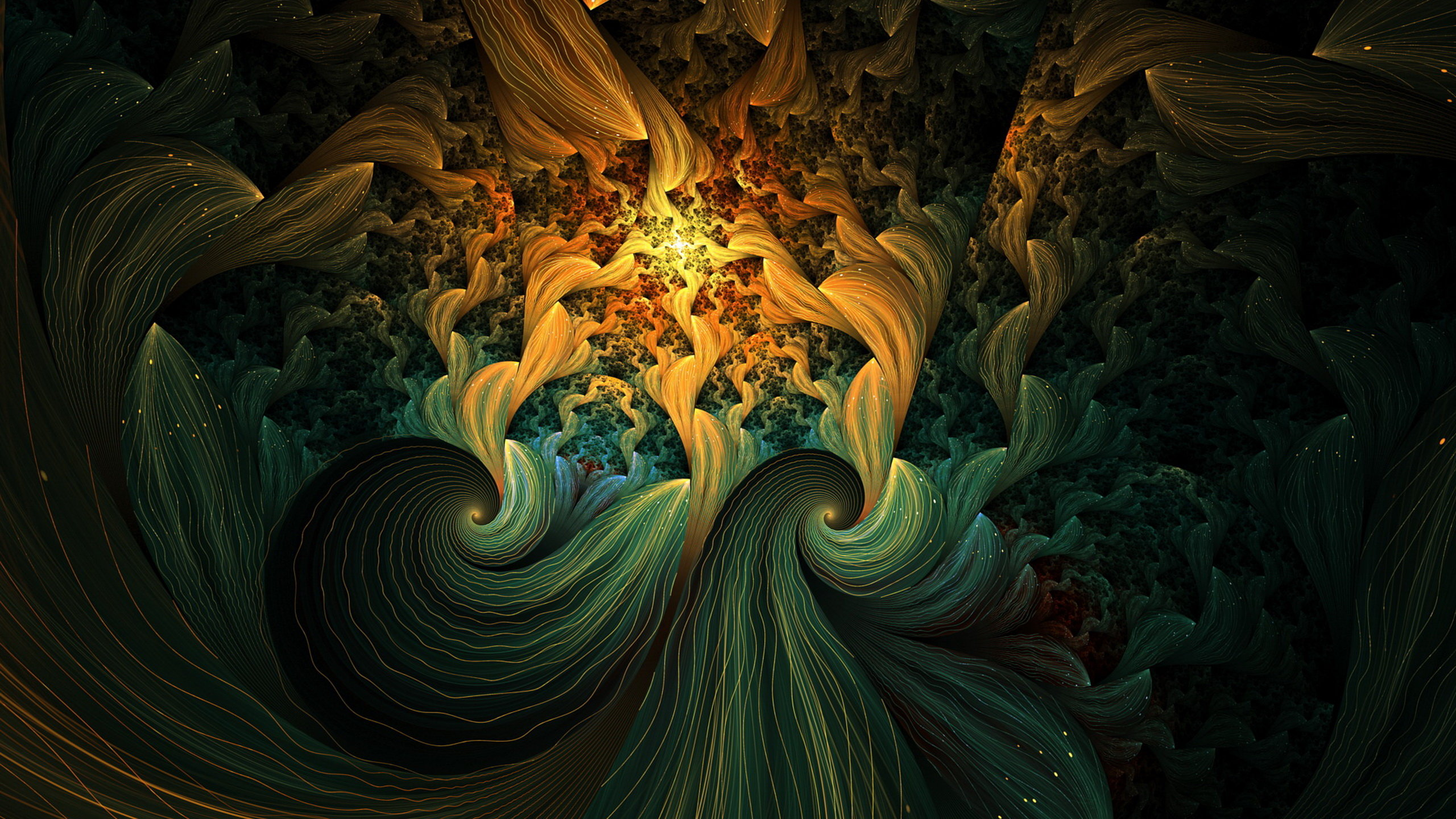 Free download Fractal wallpaper ID:93627 hd 2560x1440 for PC