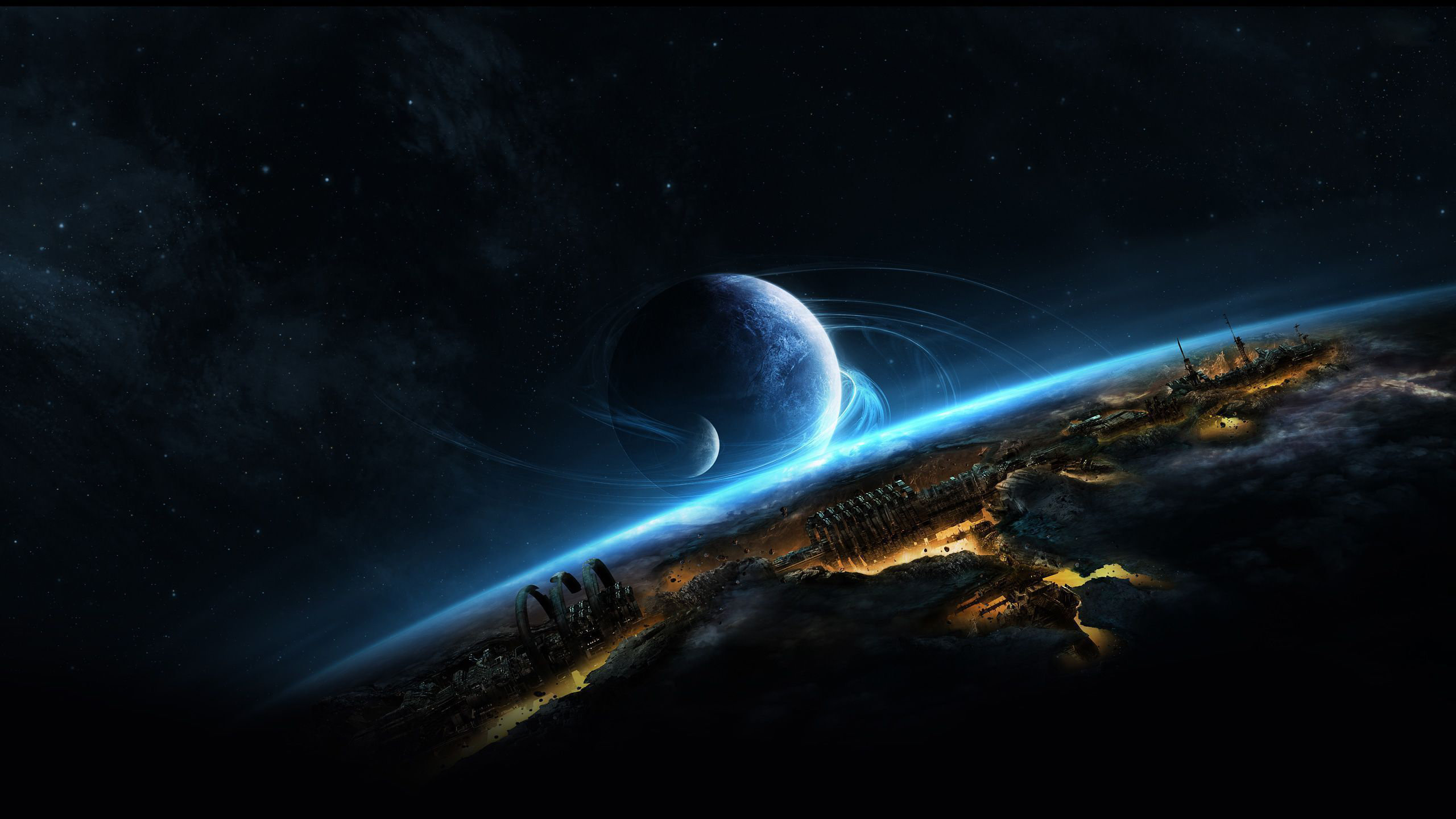 Awesome Planetscape free background ID:271594 for hd 2560x1440 desktop