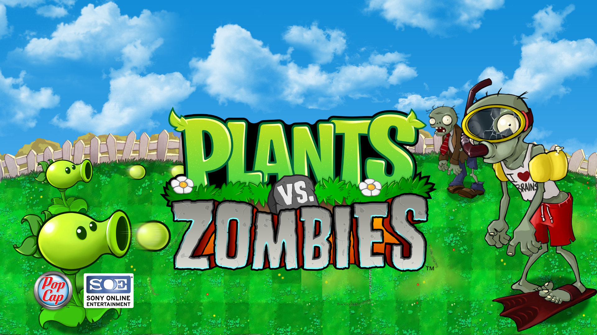 Free Plants Vs Zombies (PVZ) high quality wallpaper ID:131558 for full hd computer