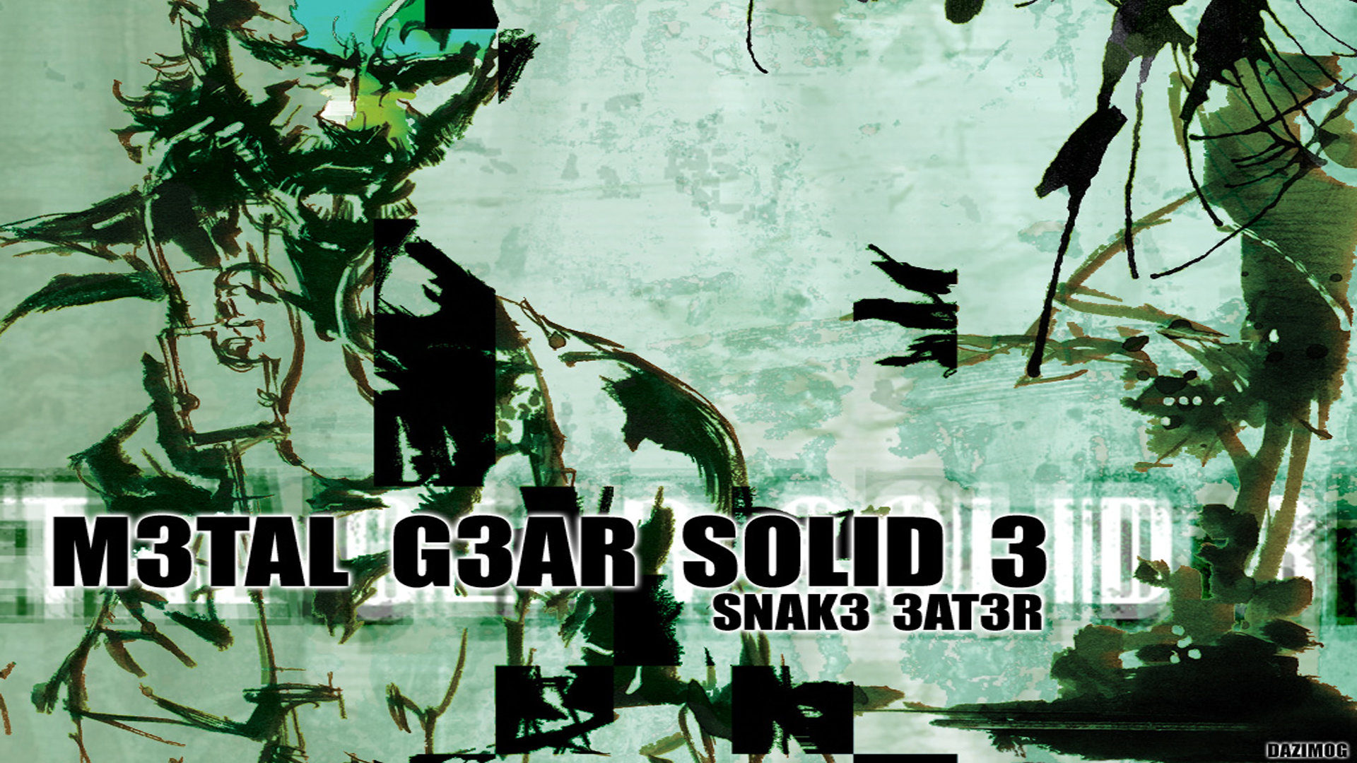 Download Full Hd 1920x1080 Metal Gear Solid 3 Snake Eater Mgs 3