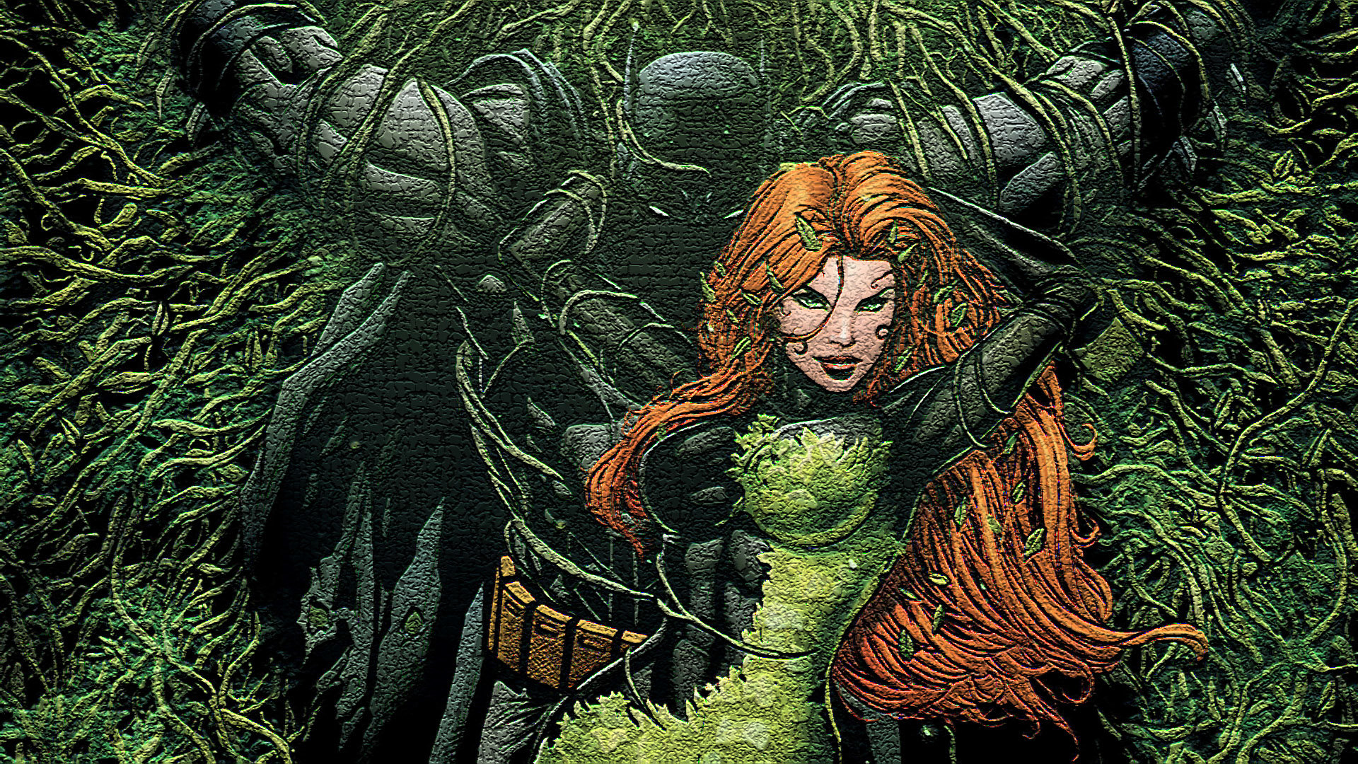 High resolution Poison Ivy full hd 1920x1080 wallpaper ID:430625 for PC