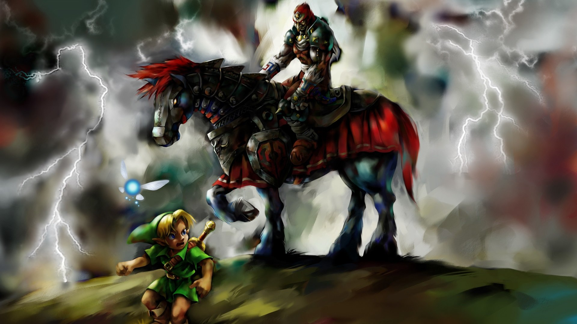 The Legend Of Zelda Ocarina Of Time Wallpapers Hd For Desktop