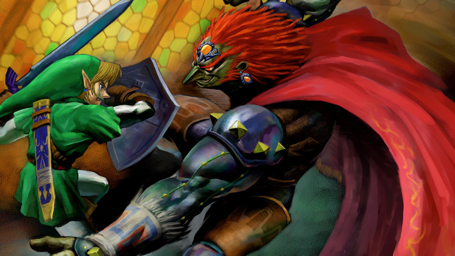Download Hd 1080p The Legend Of Zelda Ocarina Of Time Desktop