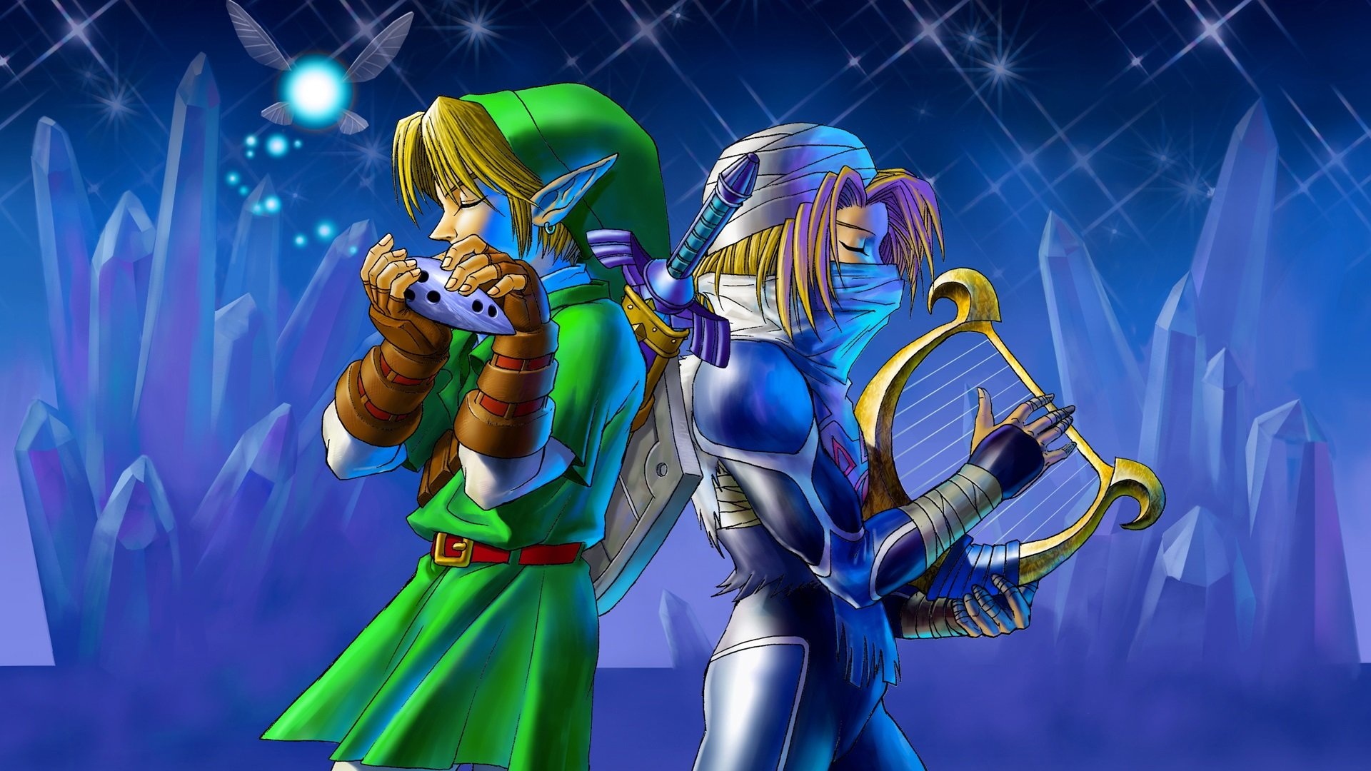 Free The Legend Of Zelda Ocarina Of Time High Quality Wallpaper