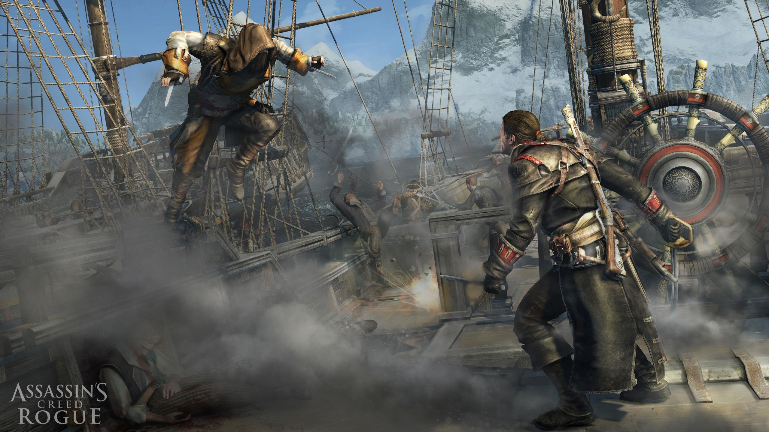 High Resolution Assassin S Creed Rogue Hd 2560x1440 Wallpaper Id