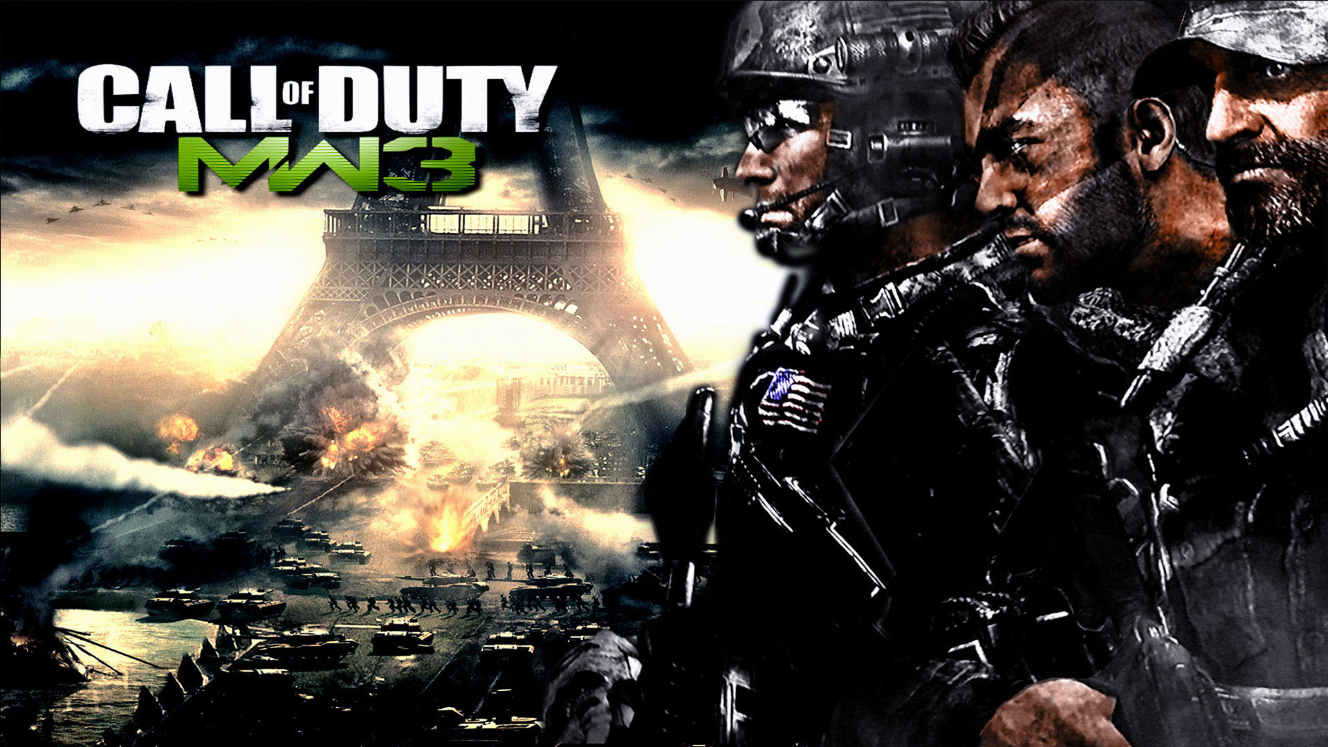 Call Of Duty Modern Warfare 3 Mw3 Wallpapers Hd For