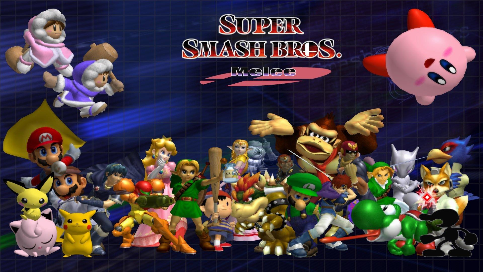 Super Smash Bros Melee Wallpapers 1920x1080 Full Hd 1080p